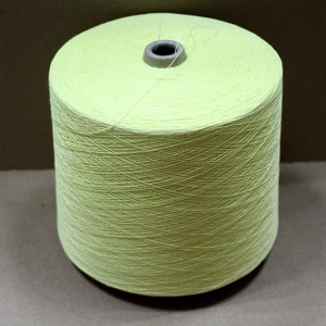 Light yellow aramid yarn